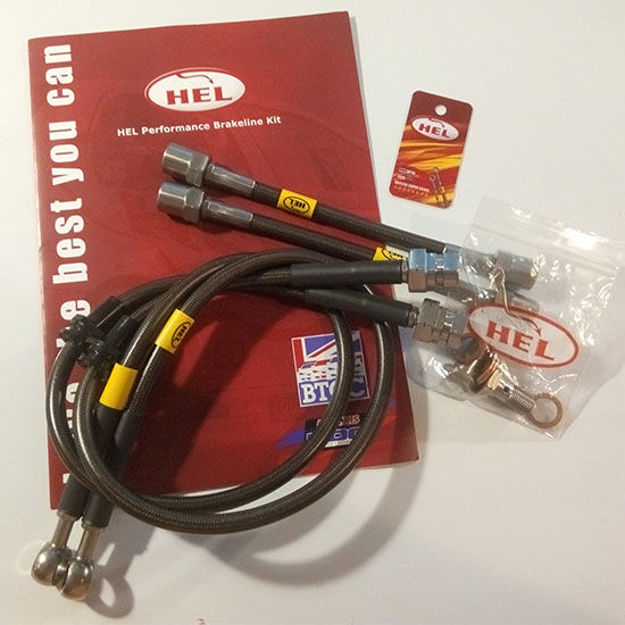 Picture of 1.8t HEL Braided Brake Hose Lines