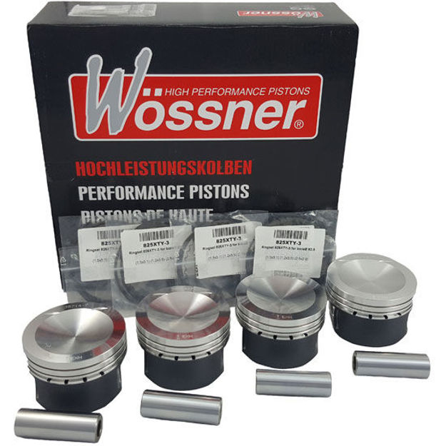 Picture of 2.0 16v Turbo TFSI 2012-2016 (23mm Pin) Wossner Forged Piston Kit