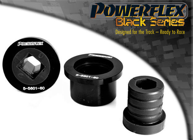 Picture of Front W/bone Rear Bush, Aluminium Outer Black 60